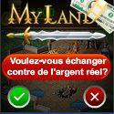 My Lands - Jeu de stratégie en ligne pour gagner des euros